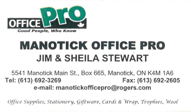 Manotick Office Pro logo - Business in Manotick