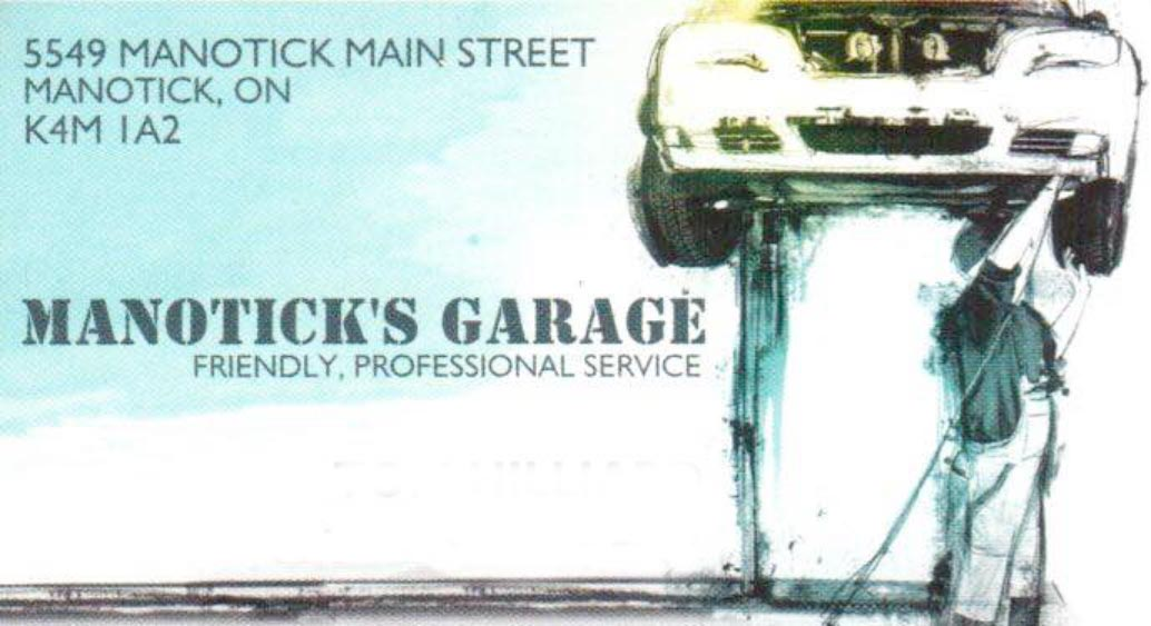 Tom's Garage logo - Business in Manotick