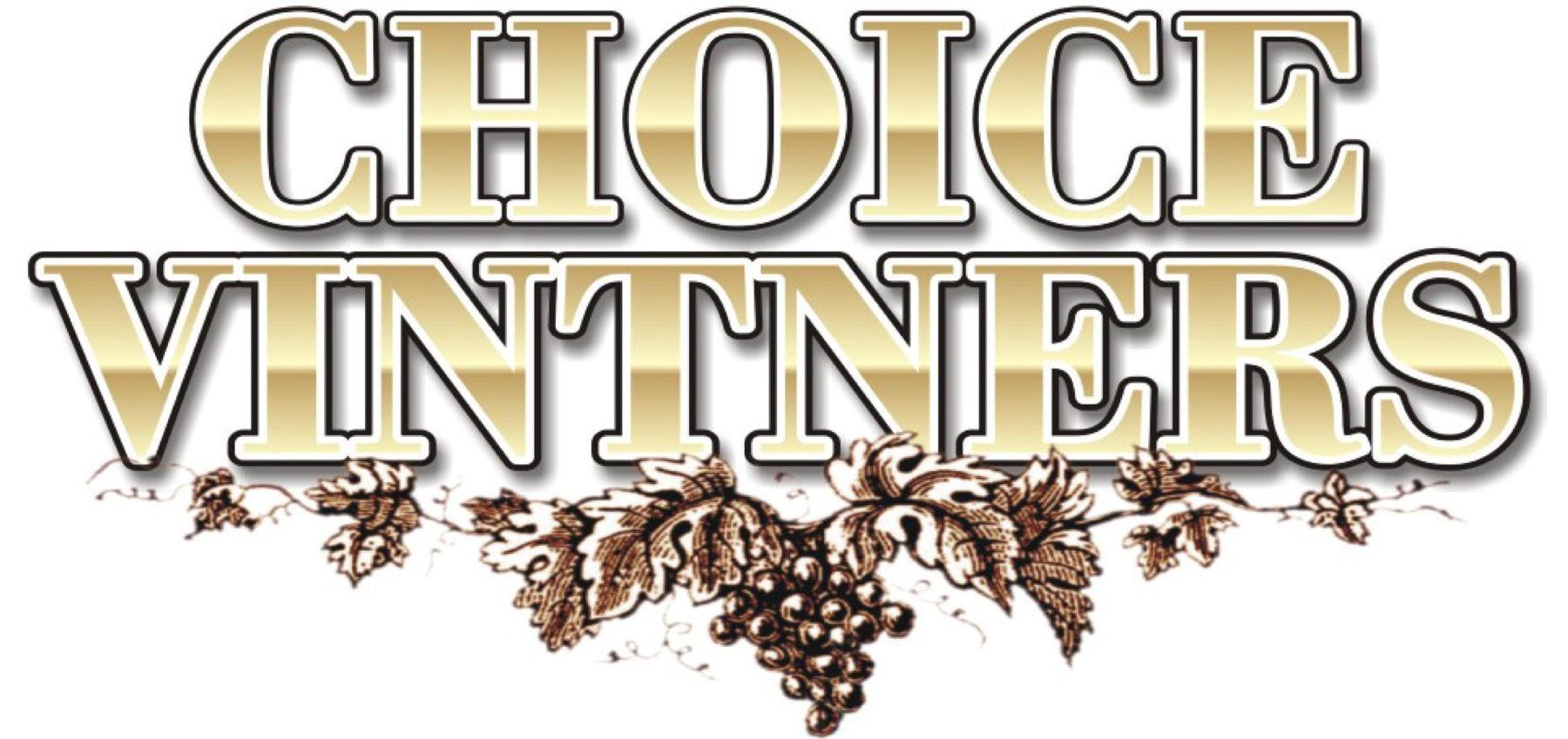Choice Vintners and Custom Cellars logo