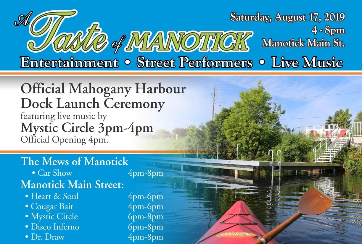 A Taste of Manotick - Events in Manotick, Ontario