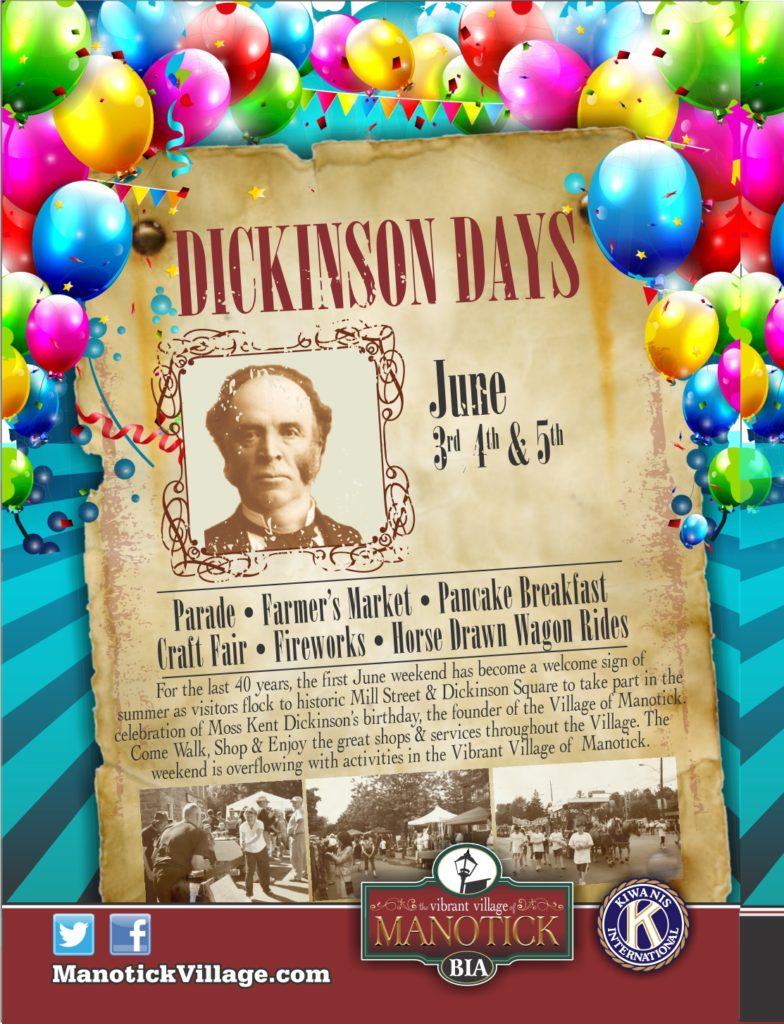 2016 Dickinson Days Postcard
