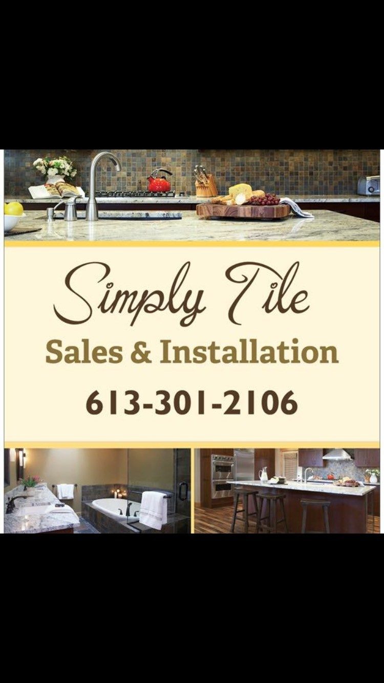 Simply Tile logo - Business in Manotick