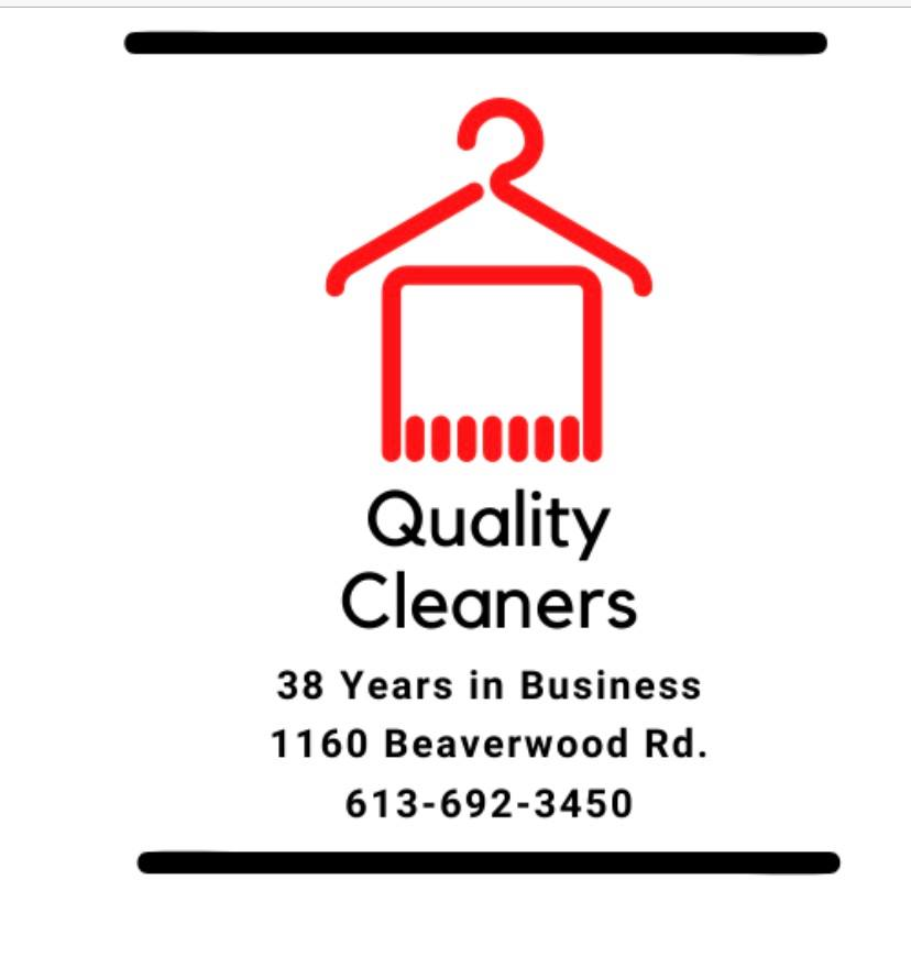 Quality Cleaners (Dry Cleaners) logo - Business in Manotick