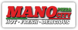 Mano City Pizza logo - Business in Manotick