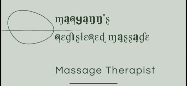 Maryann's Registered Massage logo - Business in Manotick