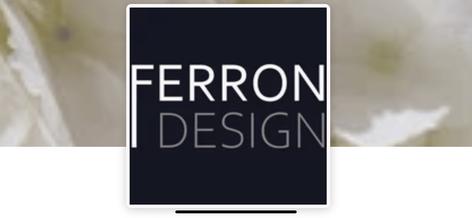 Ferron Design Studio logo - Business in Manotick
